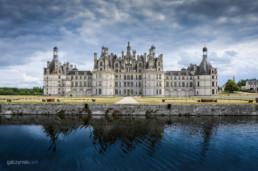 Zamek Chambord nad Loarą - castle picture