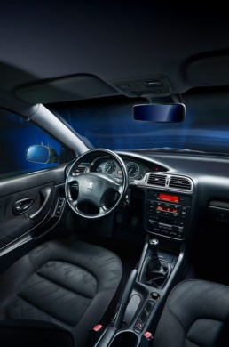 406 Coupe Pininfarina - zdjęcie wnętrza
