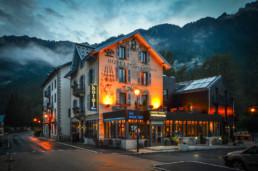 Hotel Les Lanchers - w miejscowości Les Praz de Chamonix