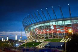 Stadion Narodowy w Warszawie podczas meczu Włochy - Niemcy (Euro 2012)