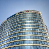 Rondo Jazdy Polskiej - Zebra Tower by Union Investment - elewacja front
